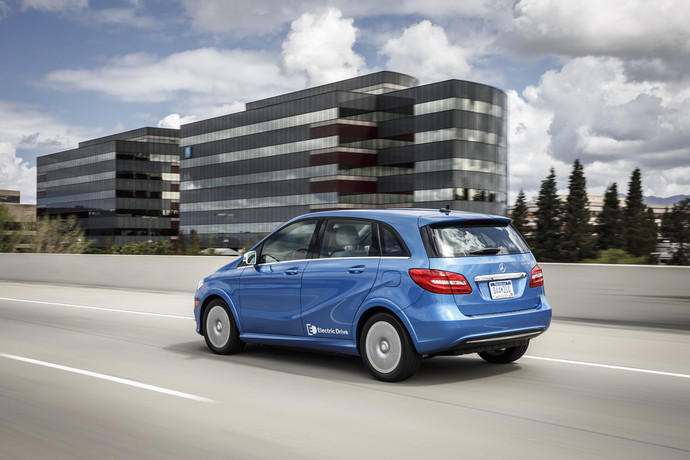 Nachrichten News Mercedes Benz B Klasse Electric Drive In Stille