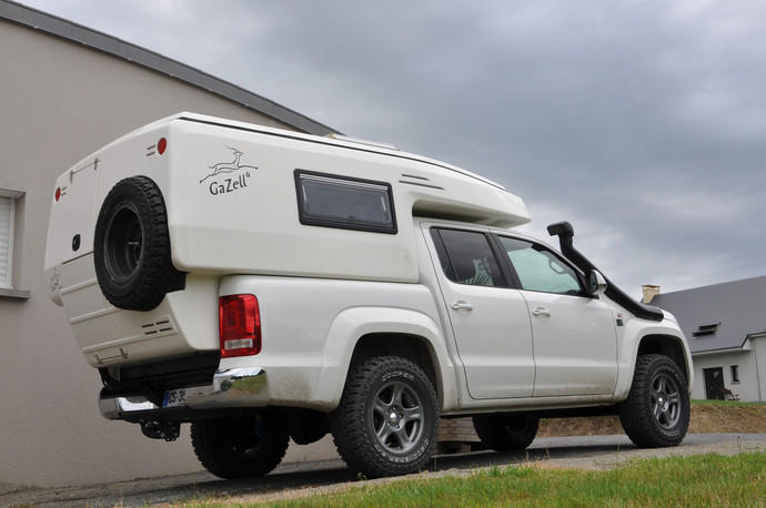 neuheit news living in a box camping mit dem vw amarok. Black Bedroom Furniture Sets. Home Design Ideas