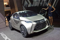 Lexus LF-SA - Nobel in die City