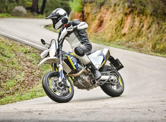 Husqvarna 701 Supermoto: Performance-Maschine mit scharfer Optik