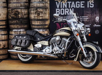 Indian Chief Vintage-Sondermodell - Friedens-Drink statt Friedenspfeife