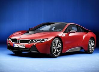 BMW i8 Protonic Red Edition - Ein Elektrosportler sieht rot