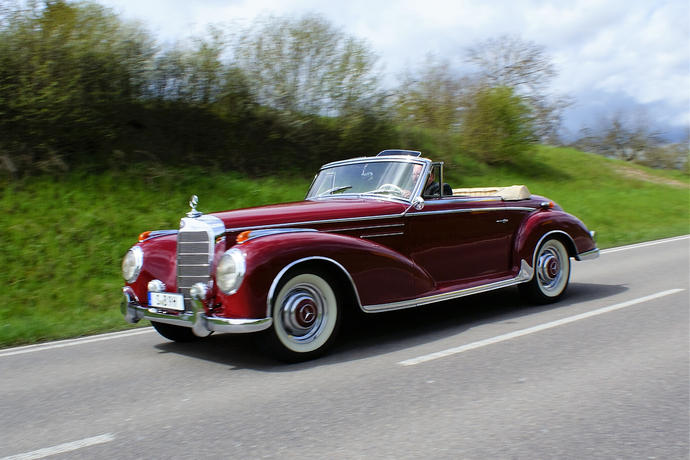 Oldtimer mercedes benz 300 sc roadster diese sch nheit for Mercedes benz parts in seattle