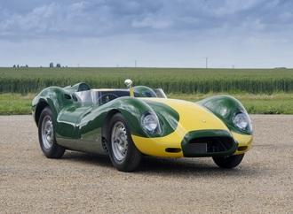 Lister Jaguar Knobbly Stirling Moss - Muskelh�lle aus Magnesium
