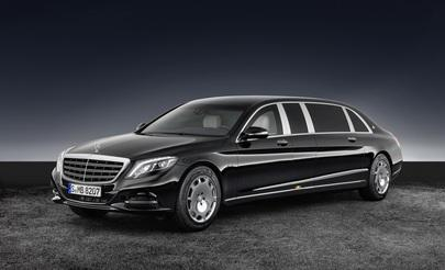 Mercedes-Maybach S 600 Pullman Guard - Bombensicherer Big-Benz