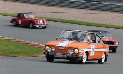 Skoda 110 R: Clockwork Orange