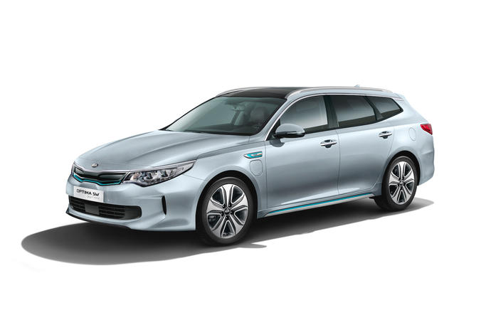 Kia Optima Kombi als Plug-in-Hybrid