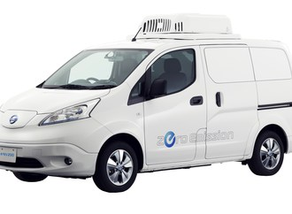 Nissan e-NV200 Fridge Concept  - Eiskalt CO2 gespart