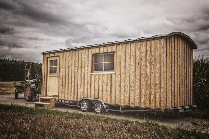 Mobiles Wohnen tiny house flex home mobiles wohnen in holz