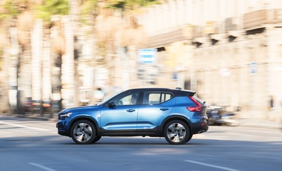 Test: Volvo XC40 D4 - Thors Hämmerchen