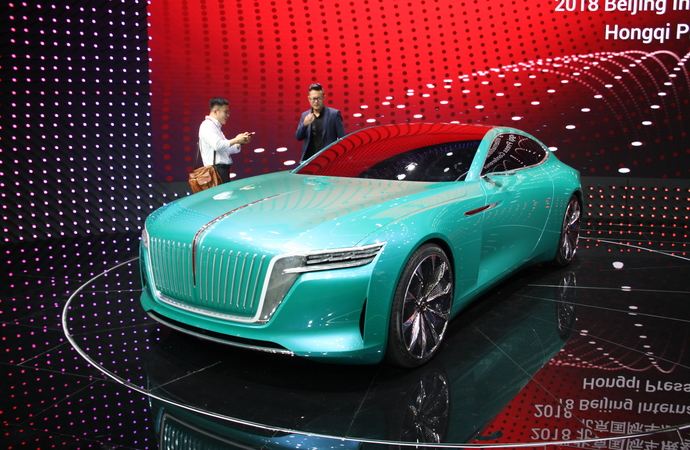 Messerundgang: Auto China Peking 2018 - Die Boom-Party