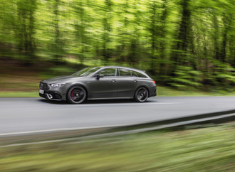 Mercedes CLA 45 4Matic Plus Shooting Brake - Top-Vierzylinder für das Kombi-Coupé