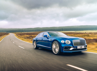Bentley Flying Spur First Edition - Start mit dem Union Jack