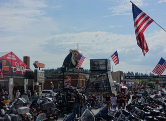 Panorama: 79. Sturgis Motorcycle Rally - So tickt der Westen - manchmal