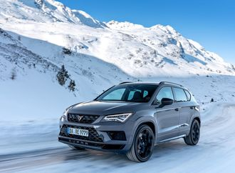 Mit 300 PS ins bergige Abseits  - Cupra on Ice