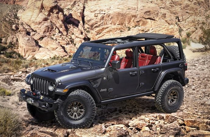 Jeep Wrangler V8 Rubicon 392 Concept - Machtdemonstration