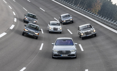 Tradition: 70 Jahre Mercedes-Benz S-Klasse - Leitstern in der Luxusklasse